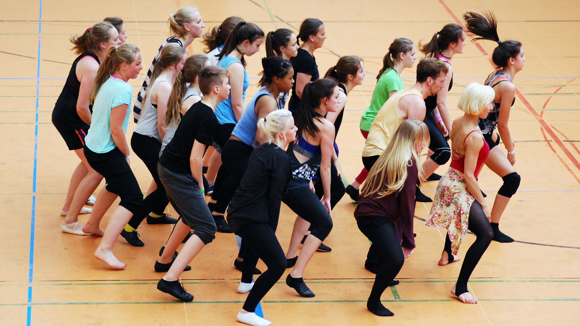 Tanzprojekte - Lehrerfortbildung